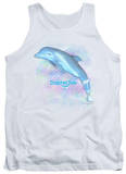 Tank Top: Dolphin Tale - Winter Water Color T-Shirt