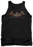 Tank Top: Batman Arkham Asylum - Arkham Asylum Logo Tank Top