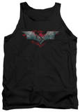 Tank Top: Dark Knight Rises - Split & Crack Logo Tank Top