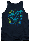 Tank Top: Dolphin Tale - Bubbles T-Shirt