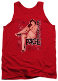 Tank Top: Bettie Page - Retro Hot Tank Top