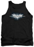 Tank Top: Dark Knight Rises - Cracked Bat Logo Tank Top