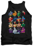 Tank Top: Batman The Brave and the Bold - Cast Of Characters Tank Top