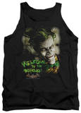 Tank Top: Batman Arkham Asylum - Welcome To The Madhouse Tank Top