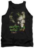 Tank Top: Batman Arkham Asylum - Welcome To The Madhouse Tank Top