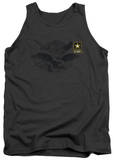 Tank Top: Army - Left Chest Tank Top