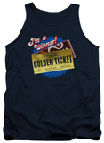 Tank Top: Charlie and the Chocolate Factory - Golden Ticket Tank Top