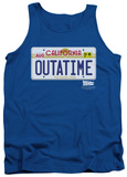 Tank Top: Back To The Future - Outatime Plate Tank Top