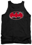 Tank Top: Batman - Hardcore Noir Bat Logo T-shirts