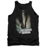 Tank Top: Bionic Woman - Motion Blur Tank Top