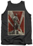 Tank Top: Dark Knight Rises - Bane Rooftop Poster Tank Top