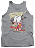 Tank Top: Courage The Cowardly Dog - Scaredy Dog Tank Top