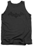Tank Top: Batman Arkham Origins - Crackle Logo Tank Top