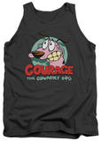 Tank Top: Courage The Cowardly Dog - Courage Tank Top