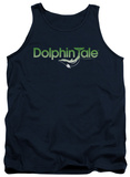 Tank Top: Dolphin Tale - Fade Out Shirts