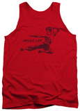 Tank Top: Bruce Lee - Line Kick Tank Top