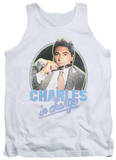 Tank Top: Charles In Charge - Suave T-Shirt