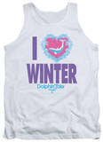 Tank Top: Dolphin Tale - I Heart Winter T-shirts