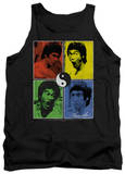 Tank Top: Bruce Lee - Enter Color Block Tank Top