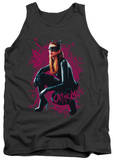 Tank Top: Dark Knight Rises - Catwoman Roses Tank Top