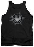 Tank Top: Green Lantern - Black Glow Tank Top