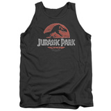 Tank Top: Jurassic Park - Faded Logo Tank Top