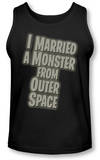 Tank Top: I Married a Monster From Outer Space - Title Shirts