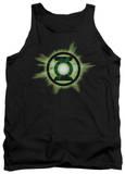 Tank Top: Green Lantern - Green Glow Tank Top