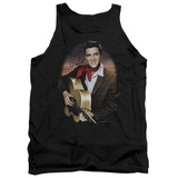 Tank Top: Elvis Presley - Red Scarf No.2 Tank Top