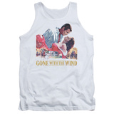 Tank Top: Gone With the Wind - On Fire Shirt