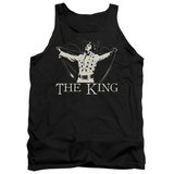 Tank Top: Elvis Presley - Ornate King Tank Top