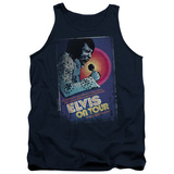 Tank Top: Elvis Presley - On Tour Poster Tank Top