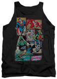 Tank Top: Justice League - Justice League Boxes Tank Top