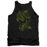 Tank Top: Jurassic Park - Rex Mount Tank Top