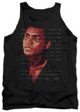Tank Top: Muhammad Ali - Champion's Speech Shirts