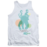 Tank Top: Psych - Predict And Serve Tank Top