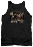 Tank Top: Heroes - Cast T-shirts