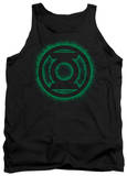 Tank Top: Green Lantern - Green Flame Logo Tank Top