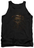 Tank Top: Man Of Steel - MoS Glyph Shield Tank Top