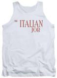 Tank Top: Italian Job - Logo Shirts