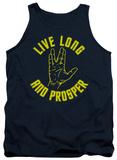 Tank Top: Star Trek - Live Long Hand Tank Top