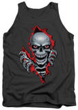 Tank Top: Lethal Threat - Ripper Skull T-Shirts
