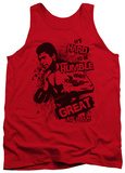 Tank Top: Muhammad Ali - Hard To Be Humble T-shirts