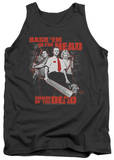 Tank Top: Shaun Of The Dead - Bash Em Tank Top