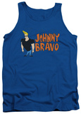 Tank Top: Johnny Bravo - Johnny Logo Tank Top