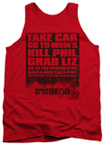 Tank Top: Shaun Of The Dead - List Tank Top