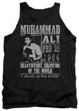 Tank Top: Muhammad Ali - Poster Tank Top