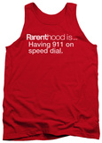 Tank Top: Parenthood - 911 On Speed Dial Tank Top