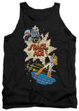 Tank Top: Space Ace - SA Side Art Tank Top