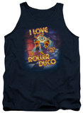 Tank Top: Space Ace - I Love Roller Disco Tank Top